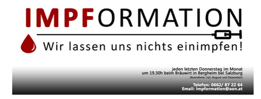 ABGESAGT!!! Impformation Salzburg - ABGESAGT!!!