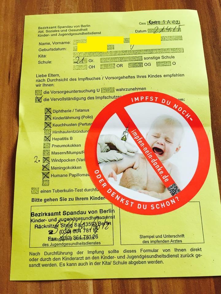 Auch Mailchimp zensiert Impfkritik!