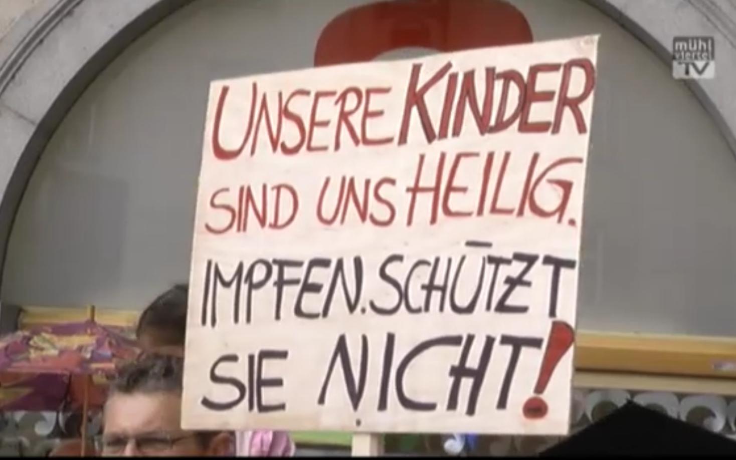 09.11.19: Graz: Demo gegen Impfzwang!