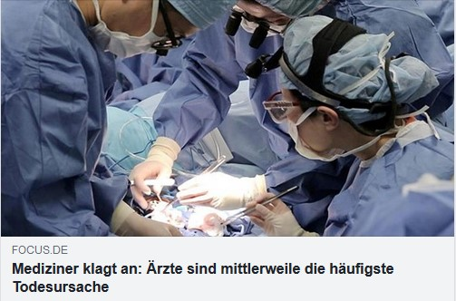 Ärzte Todesursache Nr. 1?
