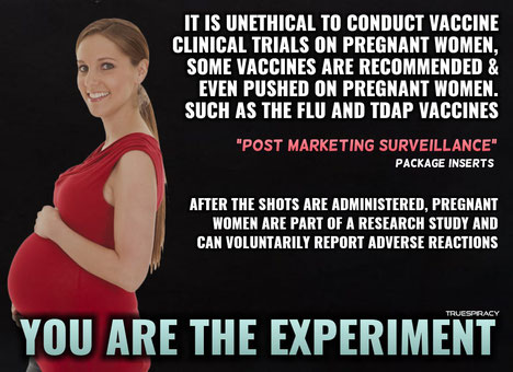 Foto: Truespiracy, We Brought Vaxxed to the UK, fair use.