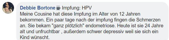 hpv impfung impfschaden)