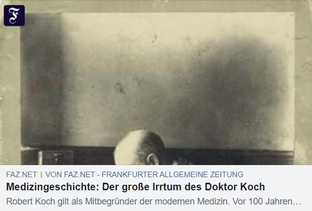 Betrug des Robert Koch & Postulate