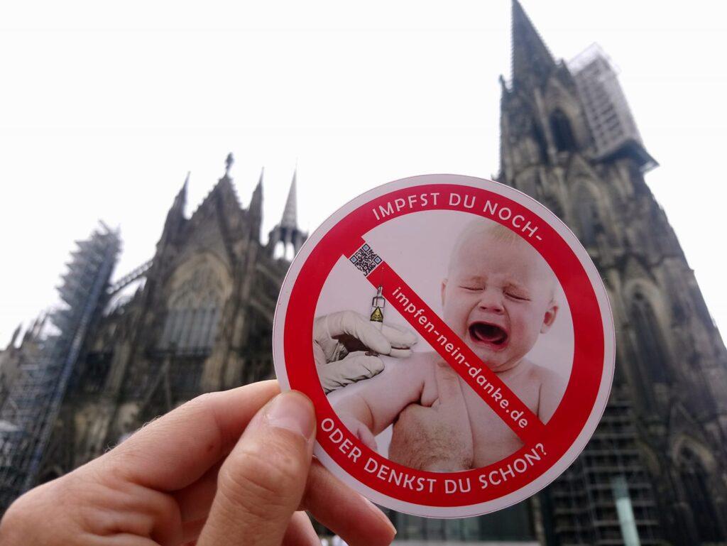 """Köln: Erfolgreiche Demo """"Sag Nein zur ImpfPFLICHT!"""""""