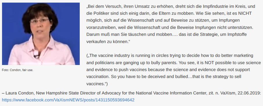 Impfstoffentwickler-Geständnisse