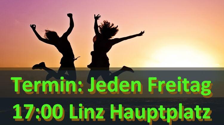 Linz: Demo jeden Freitag!