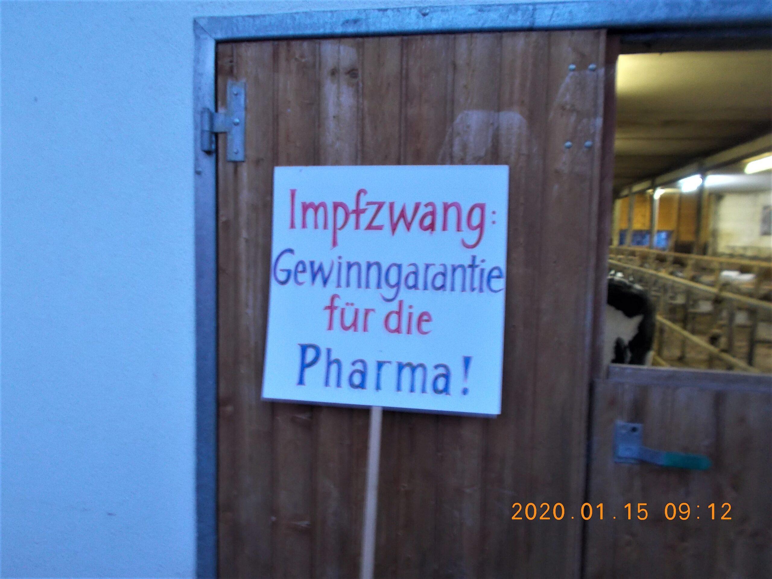 Tiere impfen?
