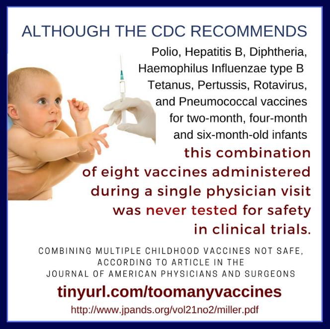 CDC-Richtlinie: 19 Impfdosen in einem Monat empfohlen