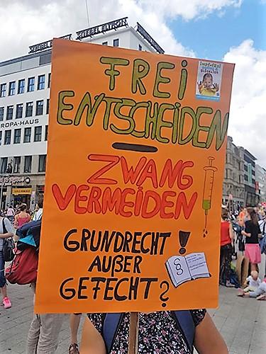 Hannover-Demo: Über 400 Impfzwang-Ablehner! Impfspahn stoppen!
