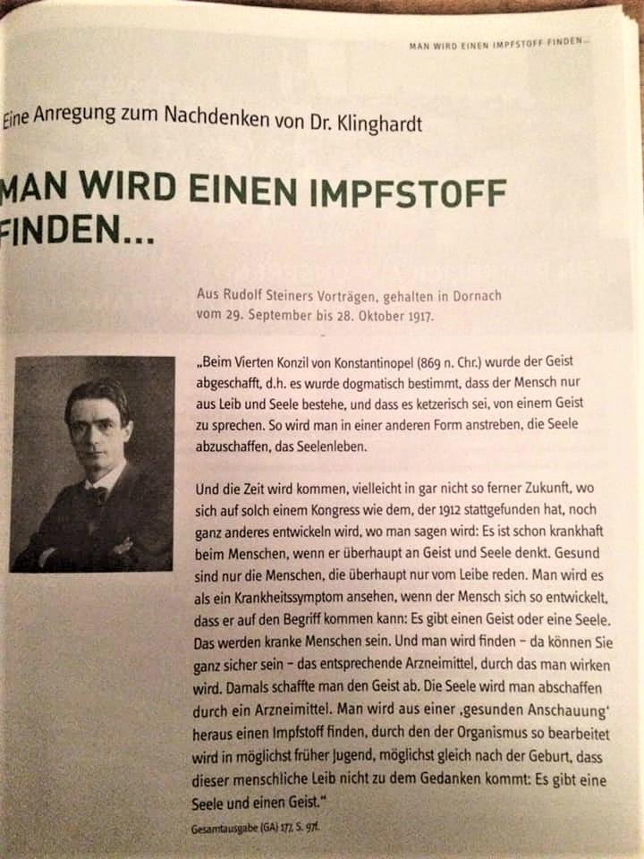 Steiner & Impfen