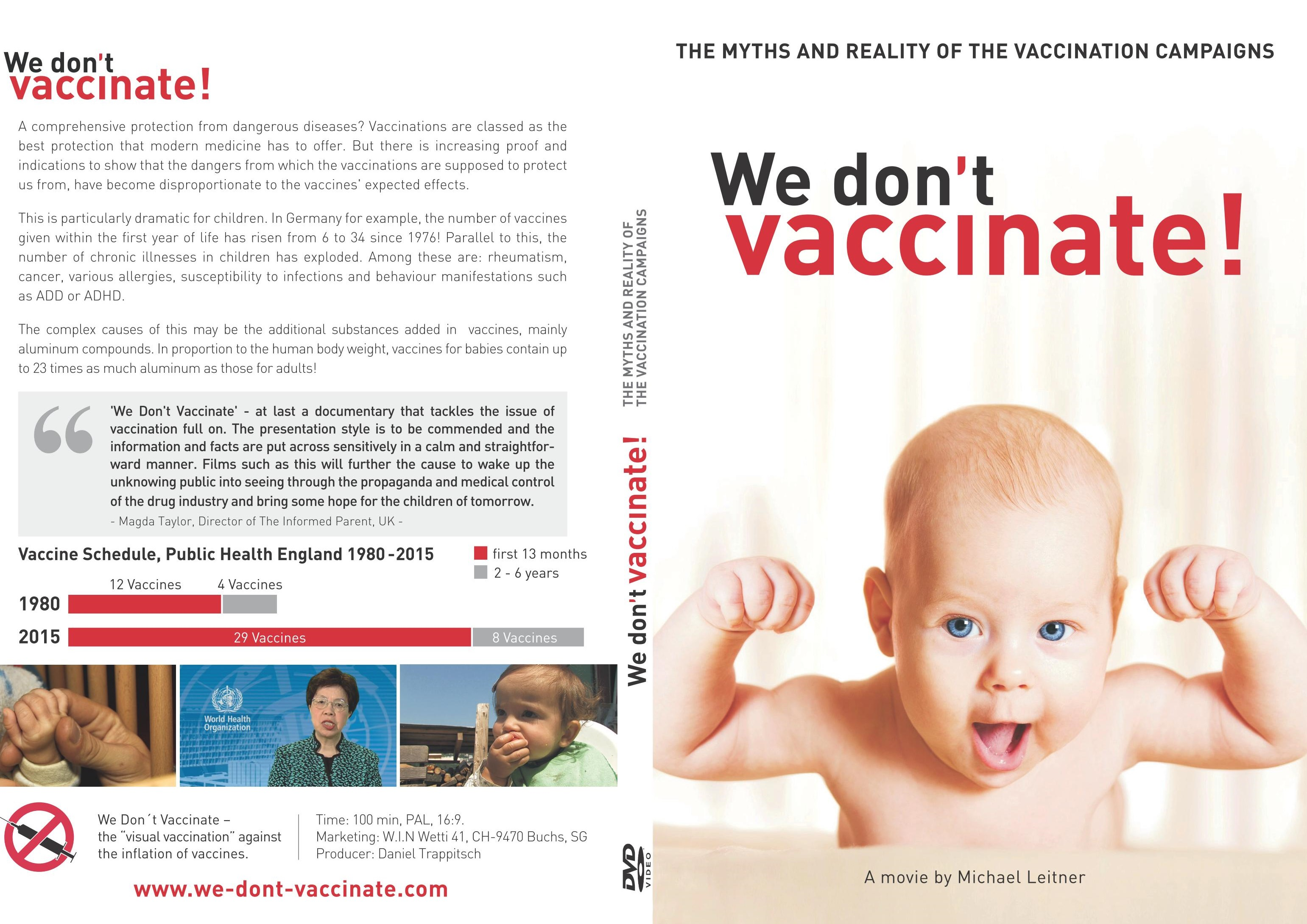 We Don't Vaccinate!