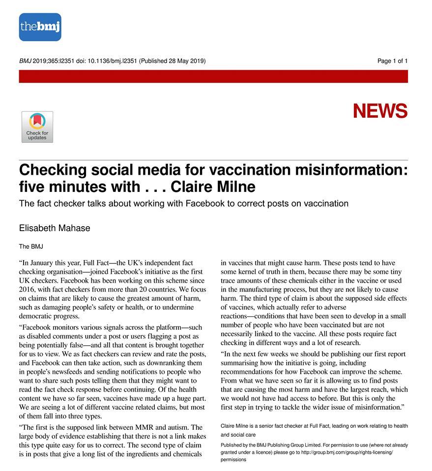 Medical Journal: Neue Zensurstufe gegen Impfkritik